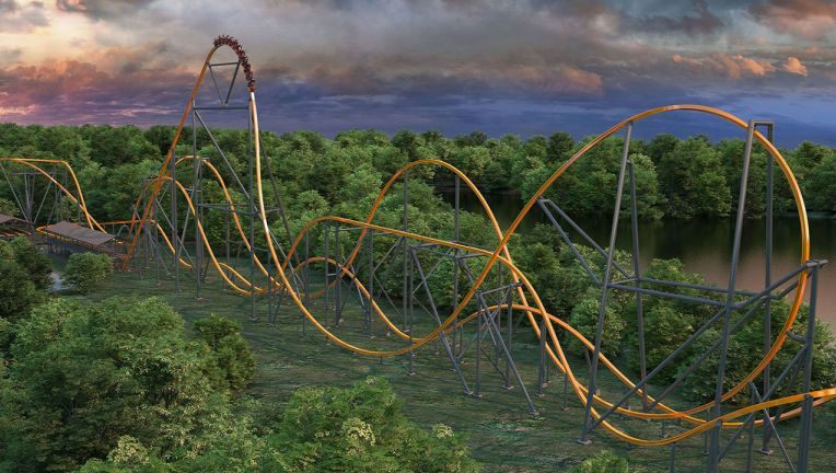 Jersey Devil Coaster - Six Flags Great Adventure