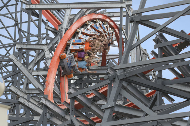 Wicked Cyclone - Six Flags New England