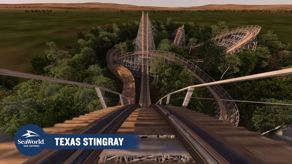 Texas Stingray - SeaWorld San Antonio